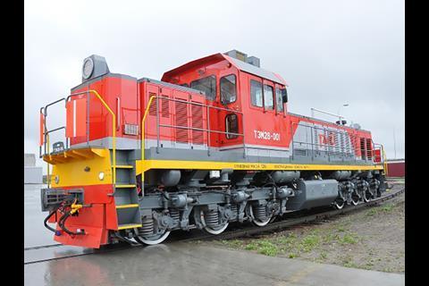 Transmashholding sales up   News   Railway Gazette